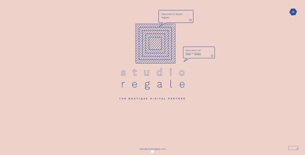 Accueil du site Studio Regale